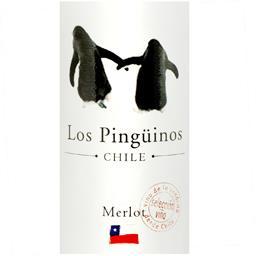 Wino Los pingüinos merlot czerwone wytrawne 0,75l