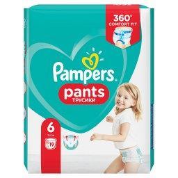 Pants, Rozmiar 6, 19 Pieluchomajtek