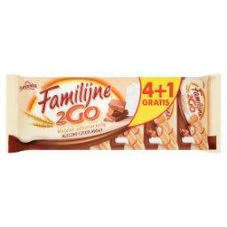2Go Wafelek pełnoziarnisty mleczno-czekoladowy 100 g