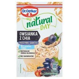 My natural day Owsianka z chia rodzynki-daktyl