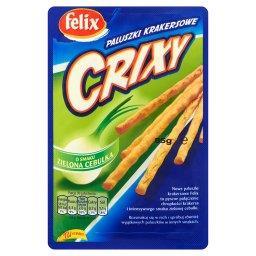 Crixy Paluszki krakersowe zielona cebulka
