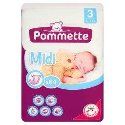 Pieluchy jednorazowe dla dzieci 3 Midi 4-10 kg