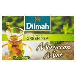 Moroccan Mint Zielona herbata z liśćmi mięty 30 g (20 torebek)