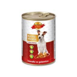 Karma dla psa z wołowiną 415g