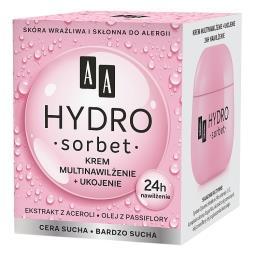 Hydro Sorbet krem multinawilżenie+odżywienie cera sucha/bardzo sucha 50 ml