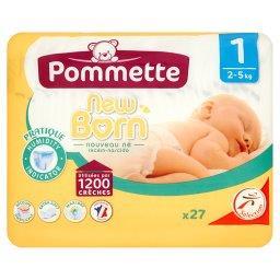 New Born Pieluszki dla dzieci rozmiar 1 2-5 kg