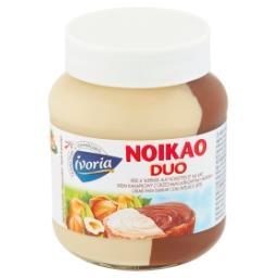 Noikao Duo Krem kanapkowy z orzechami laskowymi i mlekiem