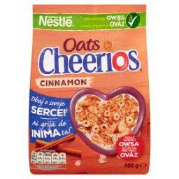 Cheerios Oats Cinnamon Chrupiące płatki śniadaniowe