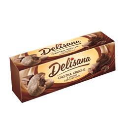 Ciastka kruche kakaowe z kremem czekoladowym 150g