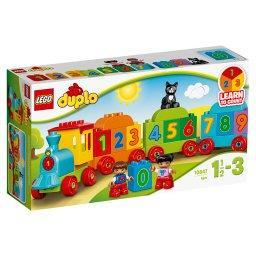 Klocki Lego Duplo My First Pociąg z cyferkami 10847