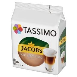 Jacobs Latte Macchiato Classico Kawa mielona 8 kapsułek i mleko 8 kapsułek