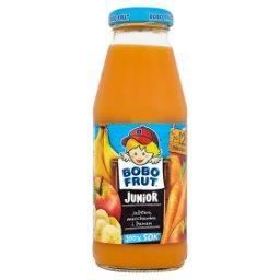 Junior 100% sok jabłko marchewka i banan po 12 miesiącu