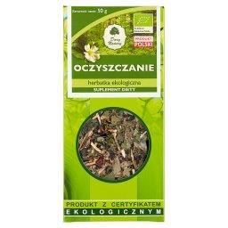 Suplement diety herbatka ekologiczna oczyszczanie