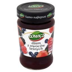 Dżem z owoców leśnych o obniżonej zawartości cukrów