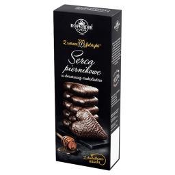 Z serca fabryki Serca piernikowe w deserowej czekoladzie z dodatkiem miodu