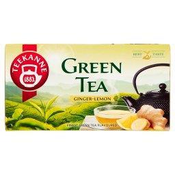 Herbata zielona o smaku imbiru i cytryny 35 g