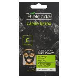 Carbo Detox Oczyszczająca maska węglowa cera mieszan...