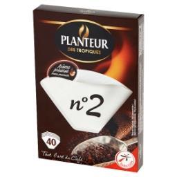 Filtry do kawy No 2 40 sztuk