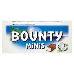 Minis Batoniki z nadzieniem kokosowym oblane czekoladą
