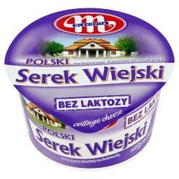Polski Wiejski bez laktozy Serek twarogowy ziarnisty...