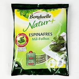 Espinafres folhas natur+ 400g
