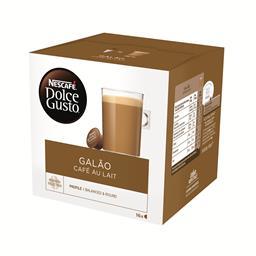 Café em cápsulas dolce gusto galão