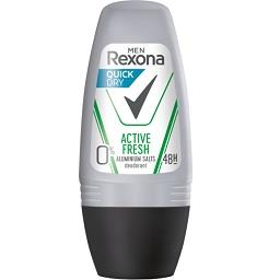 Desodorizante roll on active fresh 0% alumínio