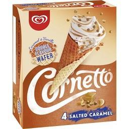 Cornetto salted caramel
