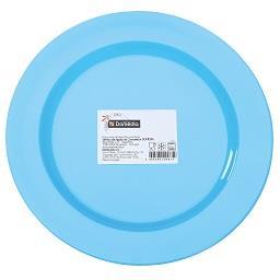 Pratos para pic nic 19 cm azuis