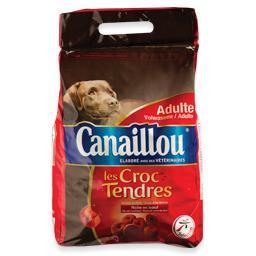 Alimento seco para cão, croquetes tenros