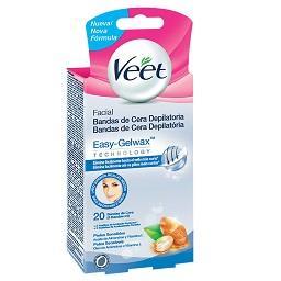 Banda cera fria peles sensíveis p/corpo