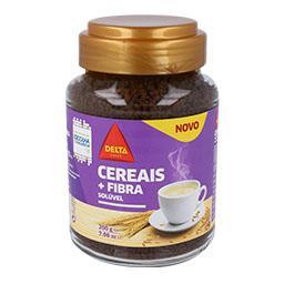 Bebida solúvel cereais+fibra frasco 200g