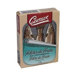 Filetes truta escabeche