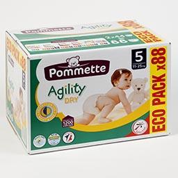 Fraldas para bebé, agility ecológicas, tamanho 5, 11...