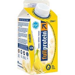Bebida de clara de ovo proteína com banana