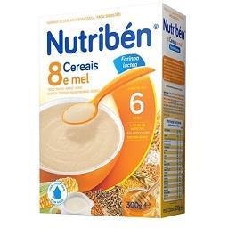 Farinha láctea 8 cereais e mel