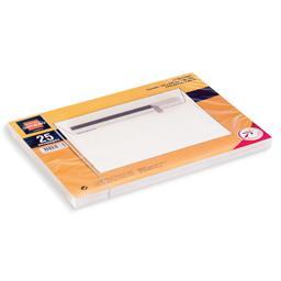 Envelope c5 silicone, 25 unidades