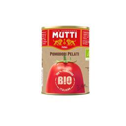 Mutti tomate pelado biologico lata 400g