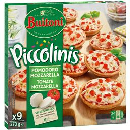 Buitoni piccolinis peq pizza tom+mozz 30g