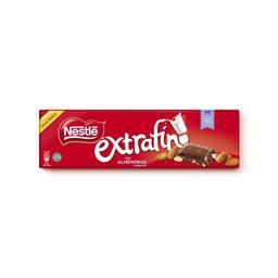 Tablete de chocolate extra fina c/ amêndoa