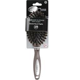 Escova de cabelo, pneumática javali