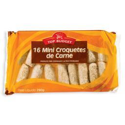 Mini croquetes carne