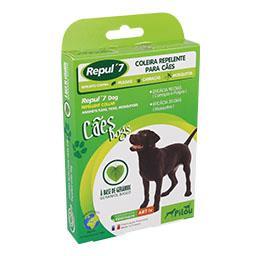 Coleira em nylon p/ cão  repelente 60cm