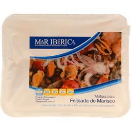 Mistura feijoada de marisco