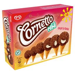 Gelado cornetto mini choc'n'ball