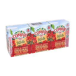 Pack de 3 embalagens de polpa de tomate