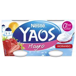 Iogurte grego magro de morango