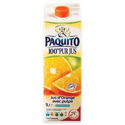 Sumo 100% fresco de laranja