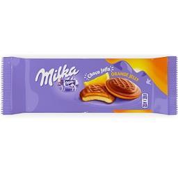 Milka sponge cake orange