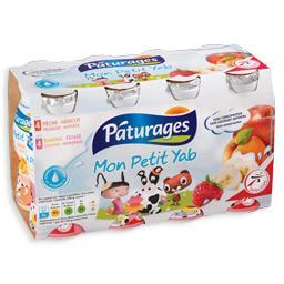 Iogurte líquido vários sabores